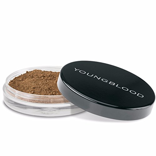 Mahogany Soft Foundation (Youngblood Mineral Cosmetics Natural Loose Mineral Foundation - Mahogany - 10 g/0.35 oz)