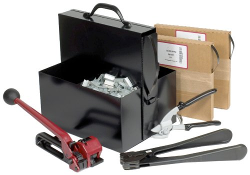 PAC Strapping SK48 1/2'' Steel Strapping Kit by PAC Strapping Products