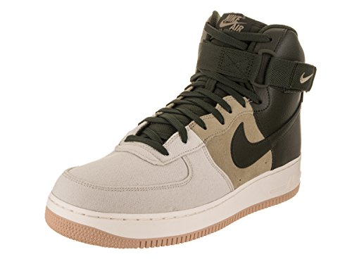 Brown Mens Basketball - NIKE Mens Air Force 1 High '07 Lv8 Basketball Shoe (11.5)