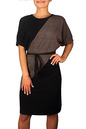 Buy belted cowl neck sweater dress - 5