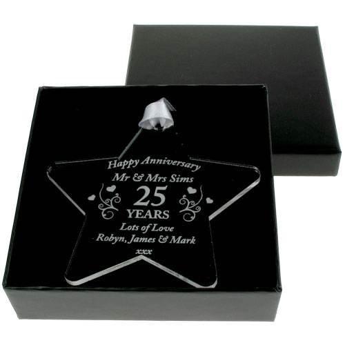 Diamond Anniversary Gift, Personalised 60th Anniversary Gift, 60th Wedding Anniversary Gifts, 60th Anniversary Star Personalised Gift Ideas