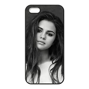 Custom Personalized Selena Gomez Back Cover Case TPU for iphone5,5S JN5S-936