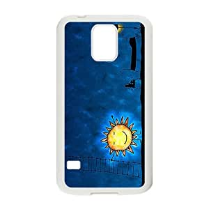 Cute Night Sun Brand New And High Quality Hard Case Cover Protector For Samsung Galaxy S5 by lolosakes