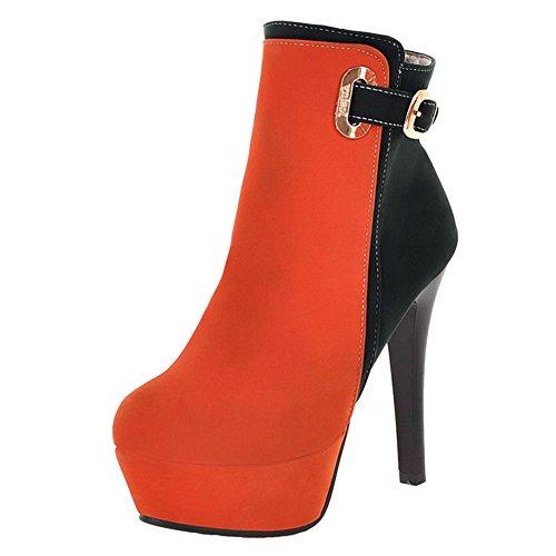 Chaussures femmes sexy RAZAMAZA Orange pour dUw1x