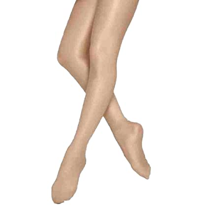402459c8881 Amazon.com  Girls Panty-Hose Ballet Footed Tights Dancing Stocking ...
