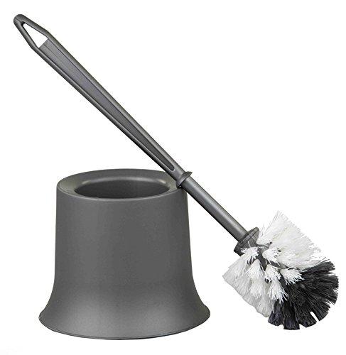 Home Basics Toilet Brush Holder (Grey)