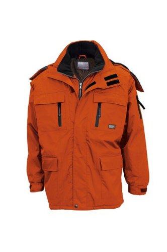 towa(トウワ)防寒コート PVCコーティング 高度な 防水性耐摩耗性 tw-5727 B008PPEY9A M オレンジ