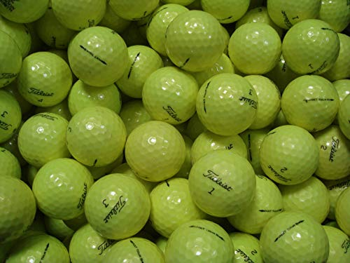 Tour Grade Ball - Titleist 50 NXT Tour S Yellow - Value (AAA) Grade - Recycled (Used) Golf Balls