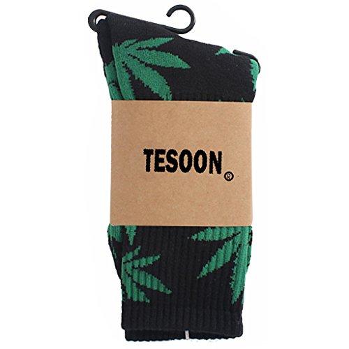 Printed Pot (TESOON Marijuana Weed Leaf Printed Pot Leaf Basketball Cotton)