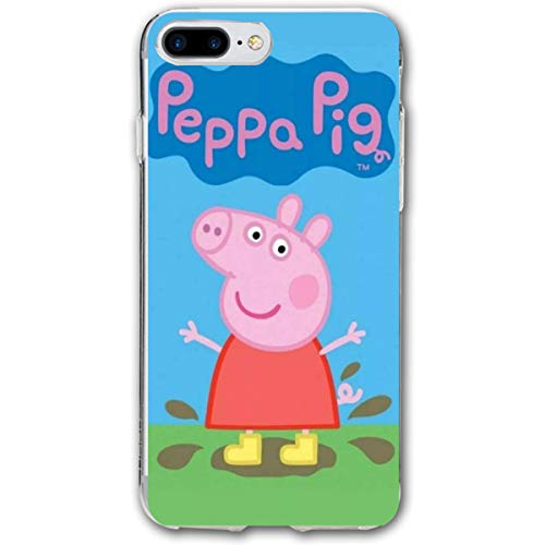 iPhone 7/8 Plus Peppa Pig George Cartoon Figure Cases for Apple