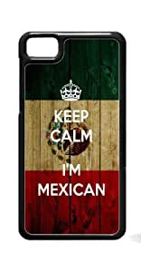 HeartCase Hard Case for Blackberry Z10 Blackberry 10 ( Mexican FLAG )