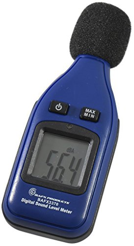 BAFX Products - Decibel Meter / Sound Pressure Level Reader (SPL) / 30-130dBA Range - 1 Year Warranty