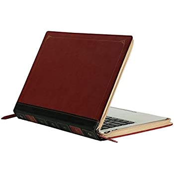 Vintage Classic Brown Wood Hard Case Cover For Macbook Air 11 13 Pro 13 15