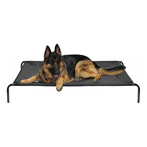 Go Pet Club PC-34 Elevated Cooling Pet Cot Bed, 39 x 24 x 6
