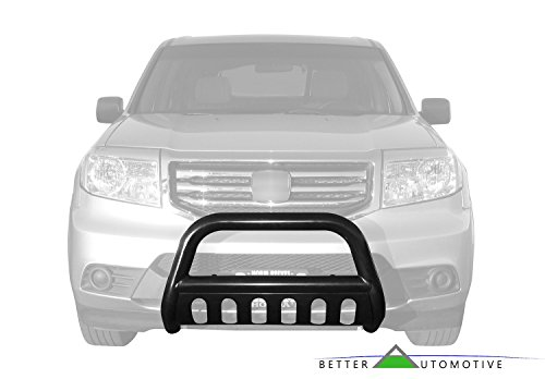 BETTER AUTOMOTIVE 2010-2016 TOYOTA 4RUNNER (Exc. 2014-2016 Limited) 3″ BULL BAR BLACK Bumper Brush Guard