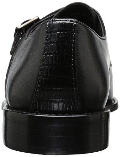 Stacy Adams Men's Rycroft Cap Toe Double Monk Strap Oxford, Black, 9 M US by Stacy Adams (Image #2)