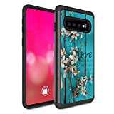 Galaxy S10 Case, Rossy Heavy Duty Hybrid TPU Plastic Dual Layer Armor Defender Protection Case Cover for Samsung Galaxy S10 6.1-inch 2019,1 John 4:19 Bible Verse Christian