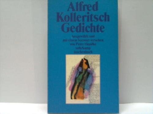 Gedichte Amazonde Peter Handke Alfred Kolleritsch Bücher