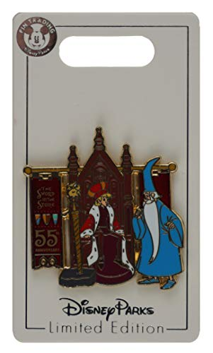 Disney Pin - Sword in the Stone 55th Anniversary - King Arthur