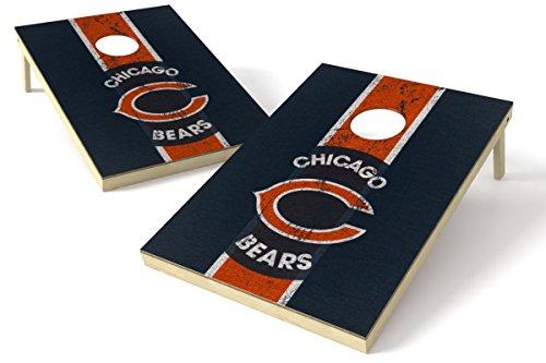 Wild Sports 2'x3' NFL Chicago Bears Cornhole Set - Heritage Design