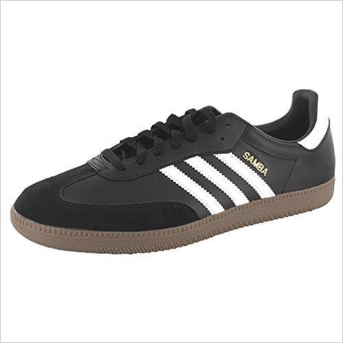 Adidas Sportschuh, SAMBA 019000/G17100 Unisex - Erwachsene Sportschuh, Adidas Schwarz 39 EU - c56ab6