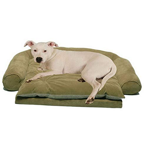 Hebel Ortho Sleeper Comfort Couch Pet Bed | Model SF - 431 | Small (Sofa Chesterfield Material)