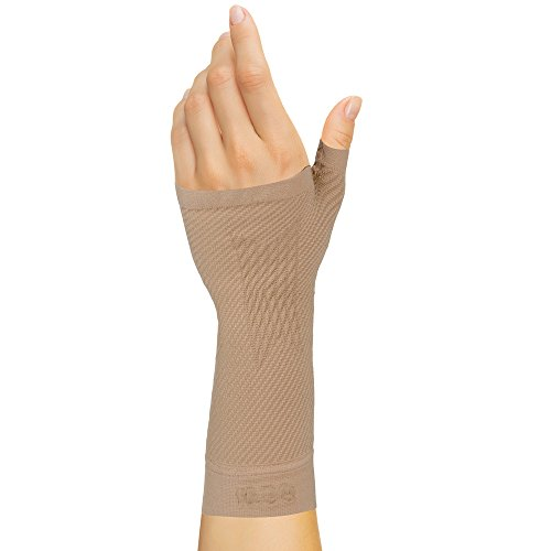 Wrist Velcro (OrthoSleeve WS6 Sports Wrist Compression Sleeve (Natural, Large))