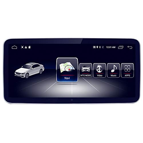 """10.25"""" Car Touch Screen for Mercedes Benz A CLA GLA Class W176 2013 to 2015 NTG4,Blue-ray Anti-glare Screen 8-Core 4GB RAM 64GB ROM Android GPS Navigation Radio Stereo Dash Multimedia Player"""