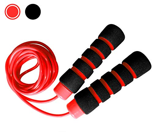 Limm All Purpose Jump Rope - Easily Adjustable And With Comfortable Handles - For Any Skill Level, Men, Women & Kids - Best For Staying Fit, Weight Loss, Cardio, General Workouts - BONUS Fitness eBook