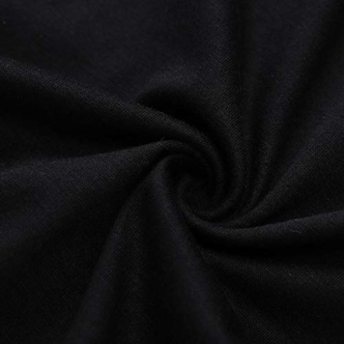 Psunrise Mono Women Summer Fashion Sexy O-Neck One Shoulder Short Sleeved Bandage Elastic Waist Pants Jumpsuits(L, Black) by Psunrise (Image #4)