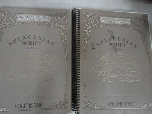 Spencerian Script and Ornamental Penmanship 2 Volume Set