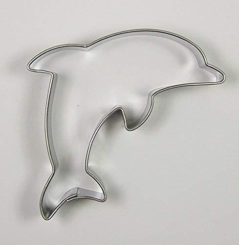 Krifka Tagliapasta//Stampino Delfin 7/cm in Acciaio Inox