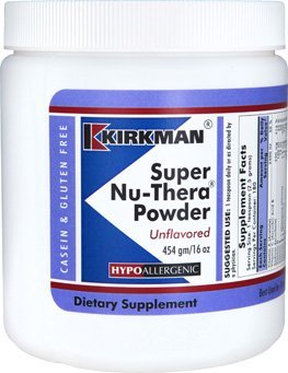 Hope Labs Nu (Super Nu-Thera Powder - Hypoallergenic - Unflavored - 16 Ounces by Kirkman Labs)