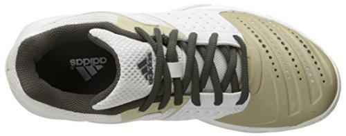 adidas Performance Court Stabil 12W Zapatillas de voleibol de la mujer White/Star Metallic/Tech Metallic