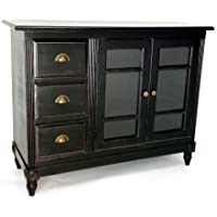 Wayborn Home Furnishing Country Sideboard, Black