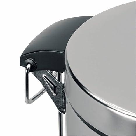 Amazon.com: Brabantia 389146 5-Liter Pedal Bin, Brillant Steel: Home & Kitchen