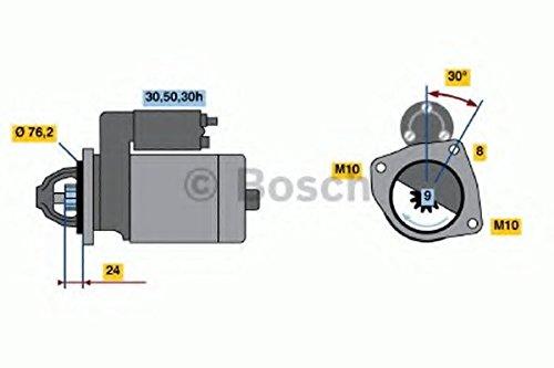 Bosch 986017110 Starter Robert Bosch GmbH 0986017110 162