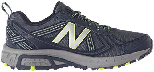 New Balance Men's MT410v5 Cushioning Trail Running Shoe, Navy/Yelow, 7.5 D US by New Balance (Image #7)
