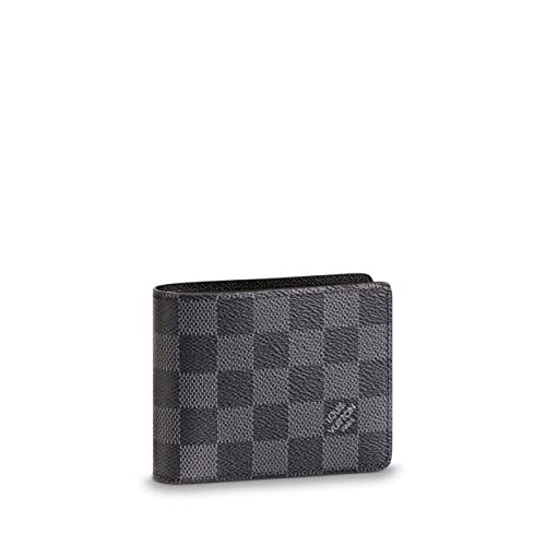 Louis Vuitton Damier Graphite Canvas Slender ID Wallet N64002 (Louis Vuitton Damier Graphite)