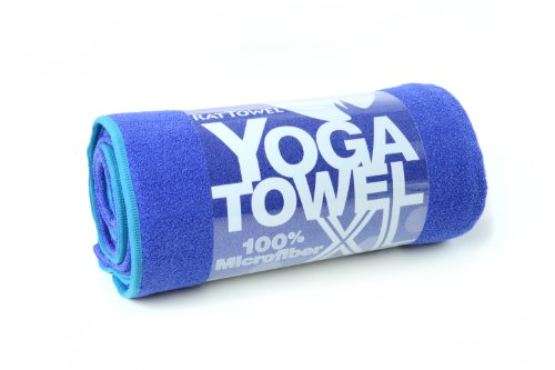 The XL Yoga Towel for XL Yoga Mats - 100% Microfiber - Super-Absorbent - enhances grip and protects your mat - Many colors to choose from. 26
