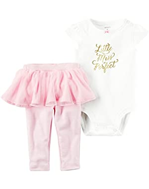 Baby Girls' Mommys Little Princess 2 Piece Set