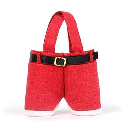 Bolsas para pantalones de Papá Noel, 5 unidades, para regalo ...