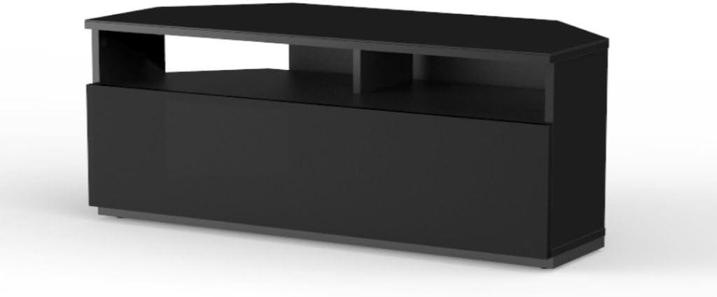 Mueble TV para Esquina. Ref. TRD-100 NN (100 cms de Ancho). Negro ...