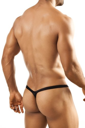 Joe Snyder Bulge Thong Metal Black - Small