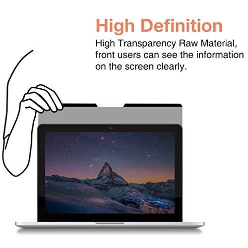 SenseAGE Easy On/Off Magnetic Privacy Filter, Anti-Blue Light, Screen Protector for Apple MacBook 12'' Retina Display for Laptoc by SenseAGE (Image #6)