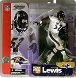 McFarlane Toys NFL Sports Picks Series 5 Action Figure Ray Lewis (Baltimore Ravens) White Jersey