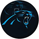 Creative Converting 8 Count Carolina Panthers Paper Dinner Plates