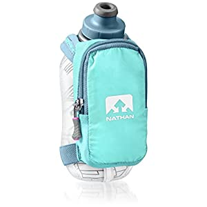 Nathan SpeedShot Plus Insulated Handheld Flask, Cockatoo, One Size