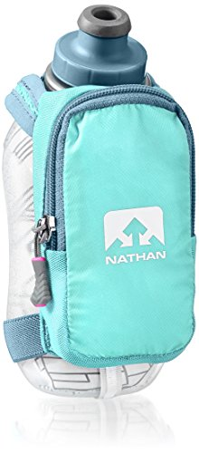 Nathan SpeedShot Plus Insulated Handheld Flask, Cockatoo, One Size Review