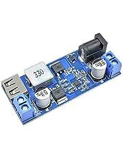 JZK 24V / 12V tot 5V 5A Power Buck DC-DC Power Down Module Voeding Video Converter Board met LED's